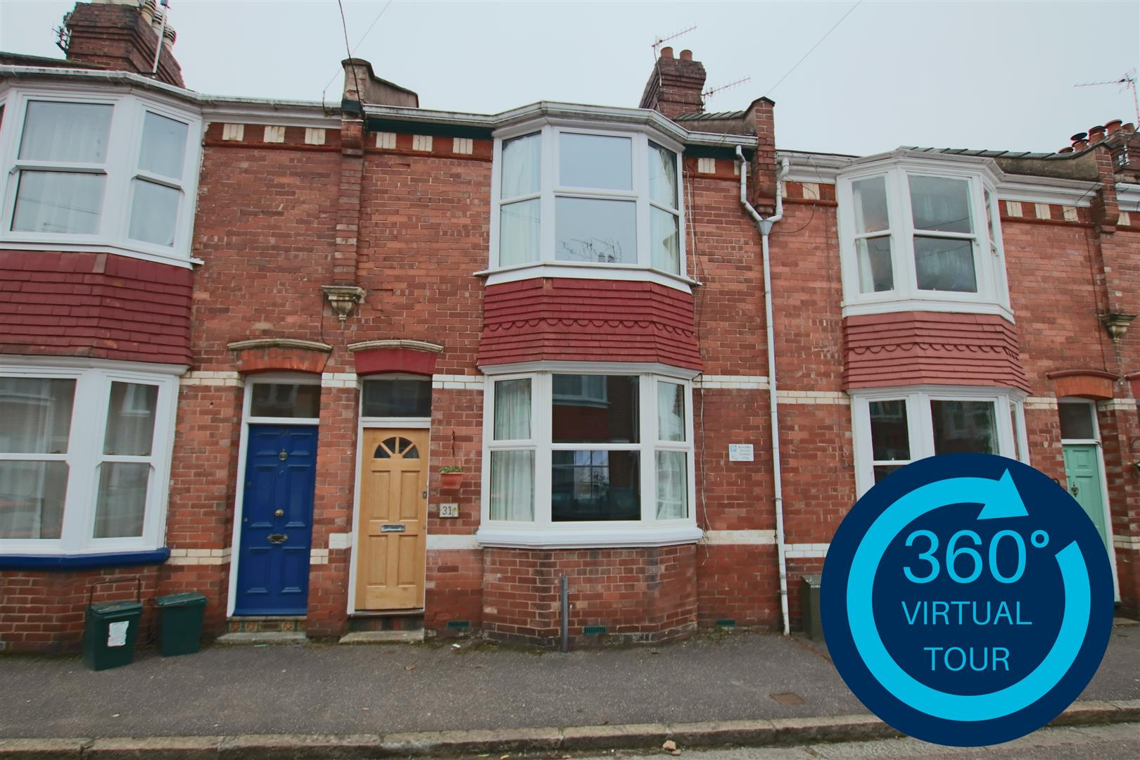 2 Bedrooms Terraced House for sale in Cedars Road, St Leonards, Exeter